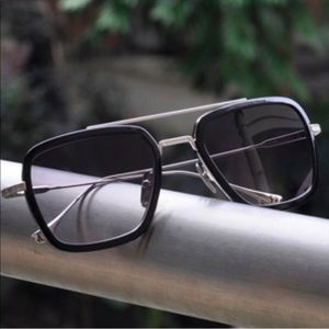 Vintage Metal Frame Sunglasses retro New
